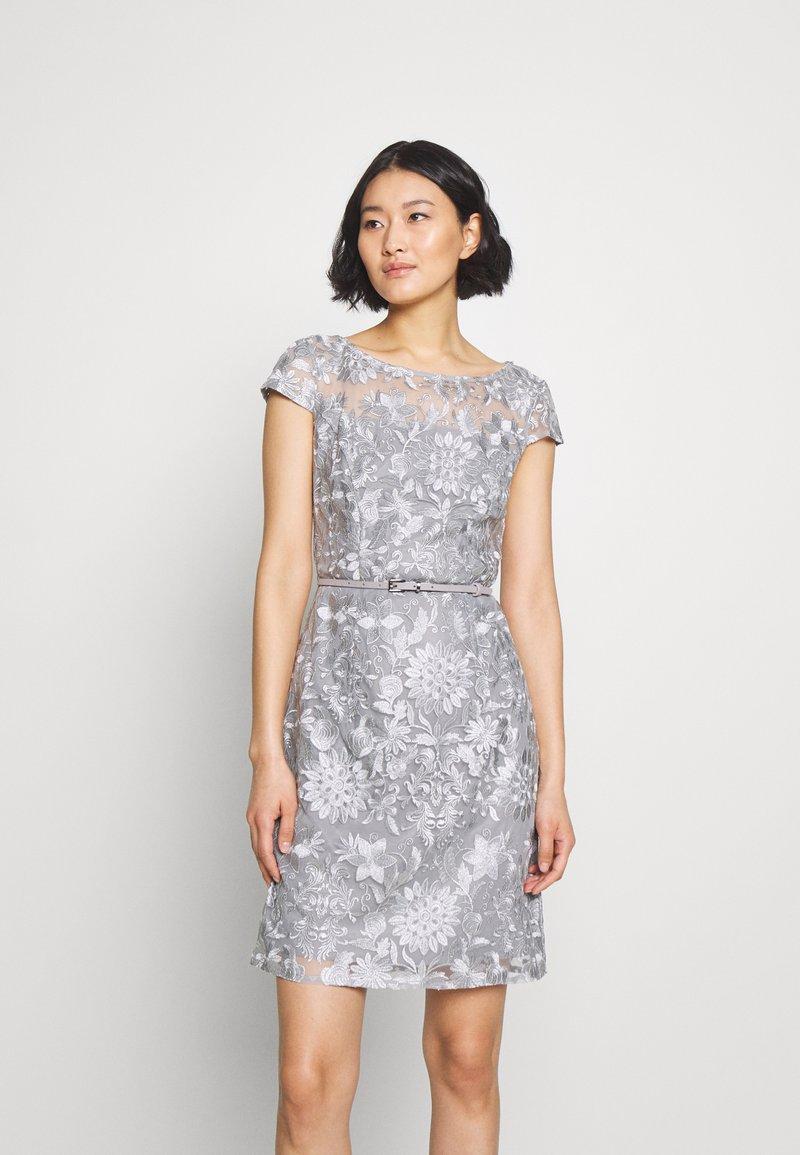 Esprit Collection - DRESS - Cocktailkjole - silver