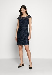 Esprit Collection - DRESS - Sukienka koktajlowa - navy - 1