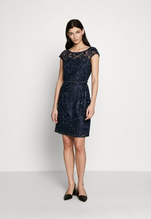 DRESS - Cocktailklänning - navy