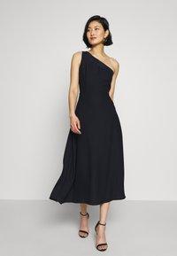 Esprit Collection - ONE SHOULDER - Cocktail dress / Party dress - navy - 0
