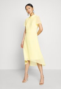 Esprit Collection - Sukienka koktajlowa - lime yellow - 0