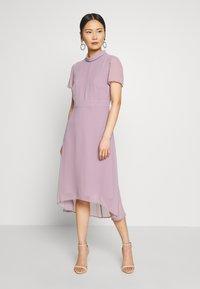 Esprit Collection - Sukienka koktajlowa - mauve - 0