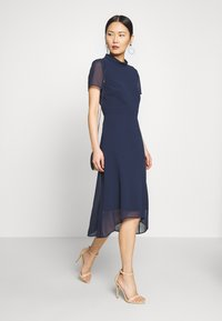Esprit Collection - Vestido de cóctel - navy - 2