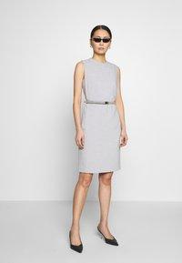 Esprit Collection - DRESS - Korte jurk - light grey - 1