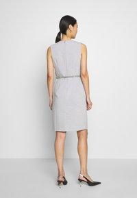 Esprit Collection - DRESS - Korte jurk - light grey - 2