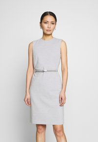 Esprit Collection - DRESS - Korte jurk - light grey - 0