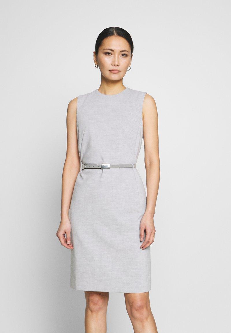 Esprit Collection - DRESS - Korte jurk - light grey