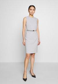 Esprit Collection - DRESS - Korte jurk - light grey - 5