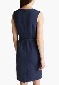 Esprit Collection - DRESS - Korte jurk - grey blue - 5