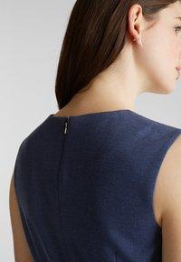 Esprit Collection - DRESS - Korte jurk - grey blue - 6