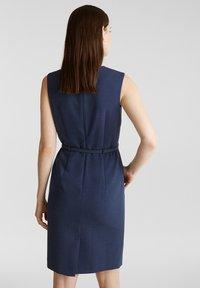 Esprit Collection - DRESS - Korte jurk - grey blue - 2