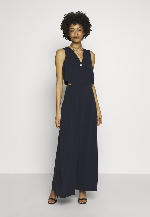 NEW DRAPE LIGHT - Maxi-jurk - navy