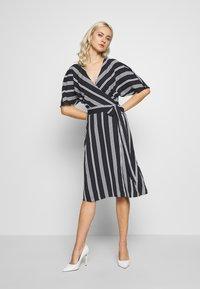 Esprit Collection - NEW DRAPE LIGHT - Denní šaty - navy - 0