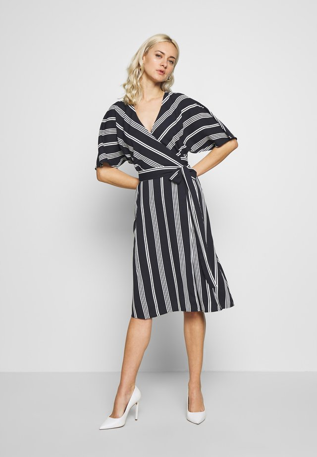 NEW DRAPE LIGHT - Day dress - navy