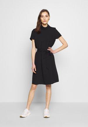 NEW DULL PES - Korte jurk - black