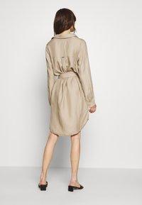 Esprit Collection - CV/LINEN MIX - Shirt dress - beige - 2