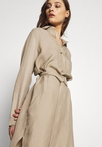 Esprit Collection - CV/LINEN MIX - Shirt dress - beige - 3