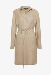 Esprit Collection - CV/LINEN MIX - Shirt dress - beige - 4