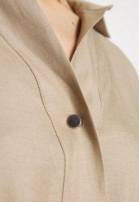 Esprit Collection - CV/LINEN MIX - Shirt dress - beige - 5