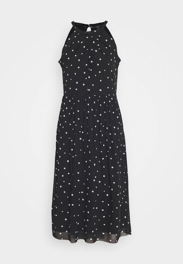 PLAIN SOLID T-M - Day dress - black