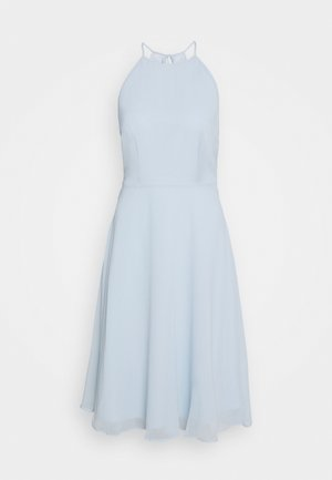 Cocktailjurk - pastel blue