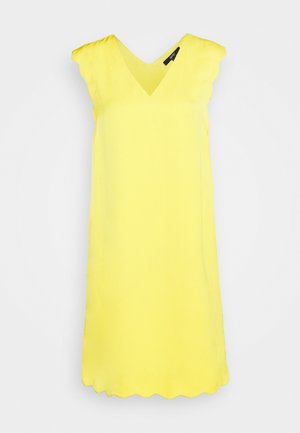 MIX - Korte jurk - yellow