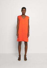 Esprit Collection - MIX - Korte jurk - red orange - 1
