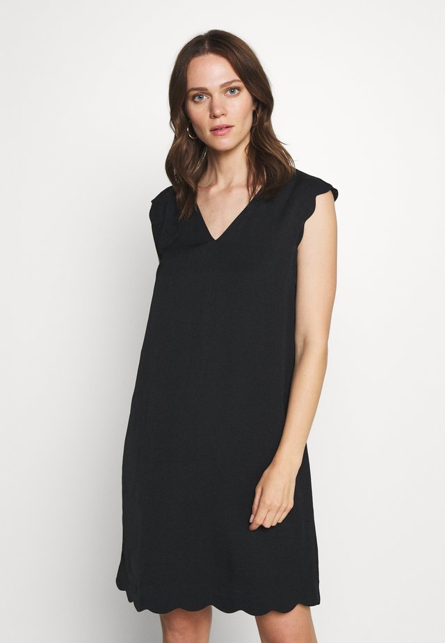 MIX - Korte jurk - black