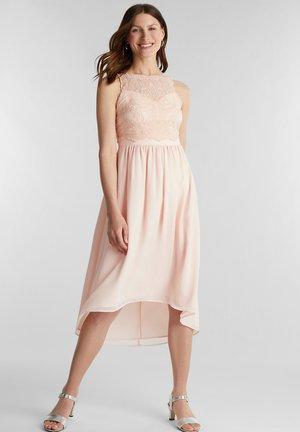 LUX FLUID - Cocktail dress / Party dress - pastel pink