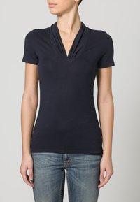 Esprit Collection - Basic T-shirt - dark navy - 1
