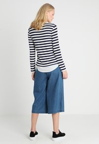 Esprit Collection - STRIPED - Neule - navy - 2