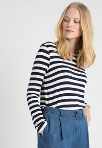 Esprit Collection - STRIPED - Neule - navy - 0
