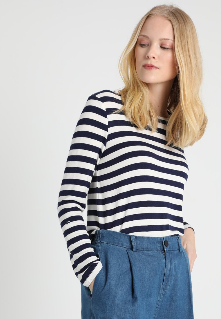 Esprit Collection - STRIPED - Neule - navy