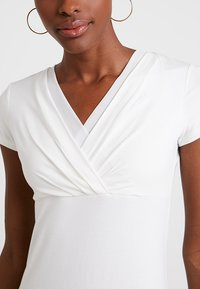 Esprit Collection - OVERLAP - T-shirts med print - off white - 4