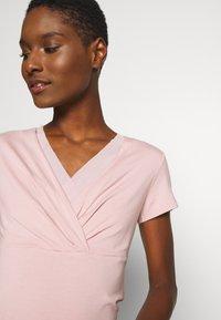 Esprit Collection - OVERLAP - T-shirts med print - old pink - 3