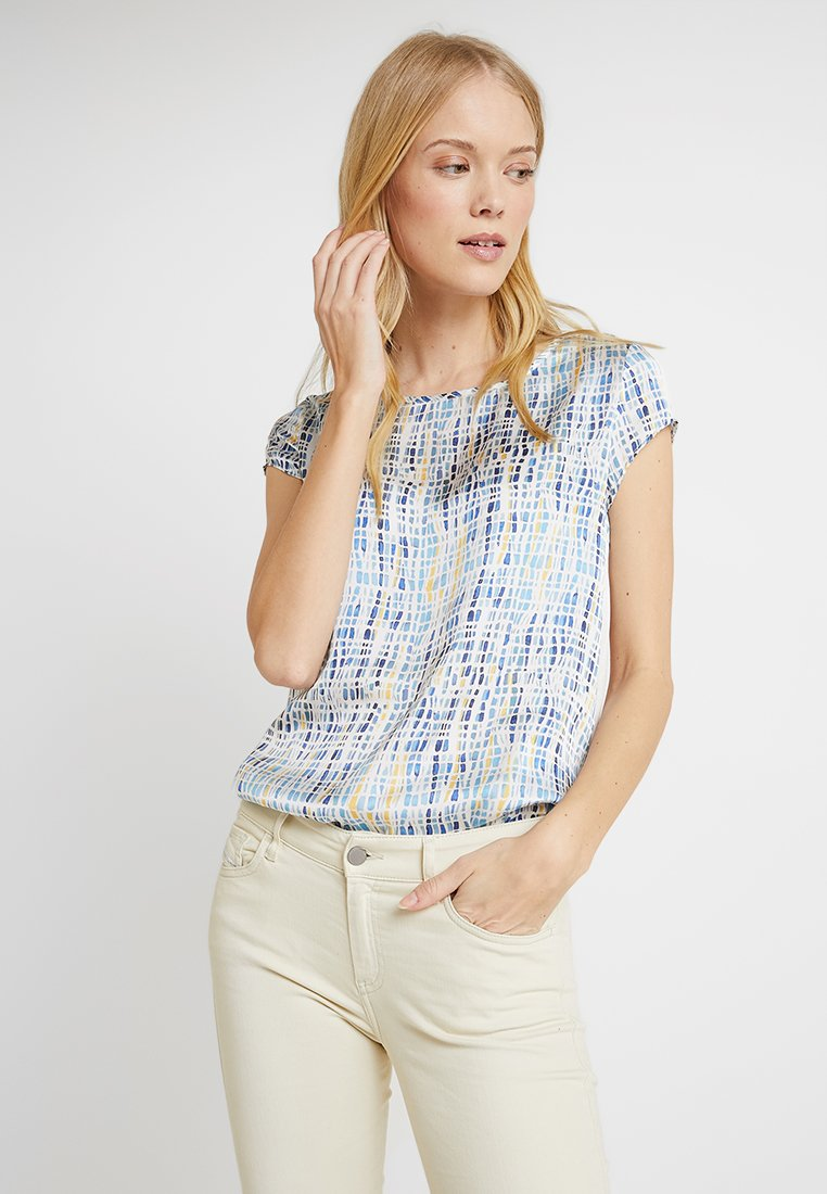 Esprit Collection - FABRIC MIX - Bluse - white