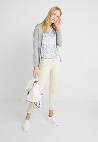 Esprit Collection - FABRIC MIX - Pusero - white - 1