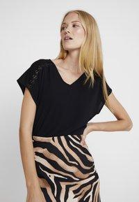 Esprit Collection - YOKE TEE - Blouse - black - 3