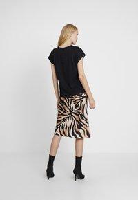 Esprit Collection - YOKE TEE - Blouse - black - 2