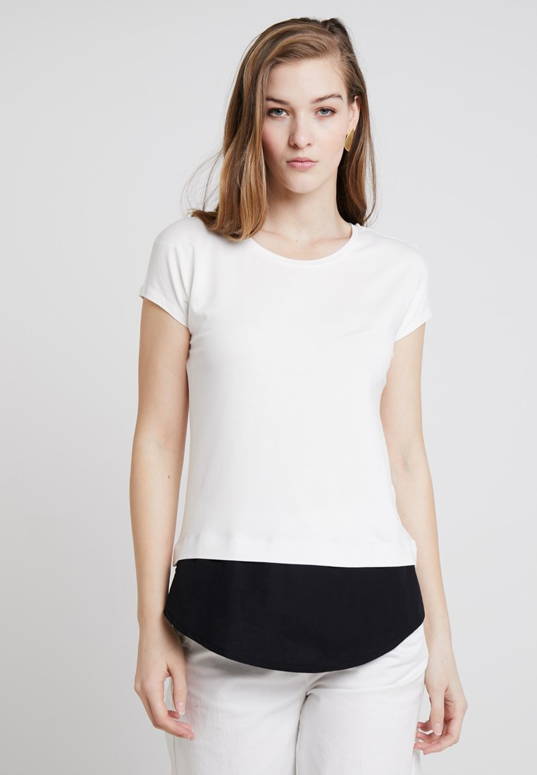Esprit Collection - Camiseta estampada - off white