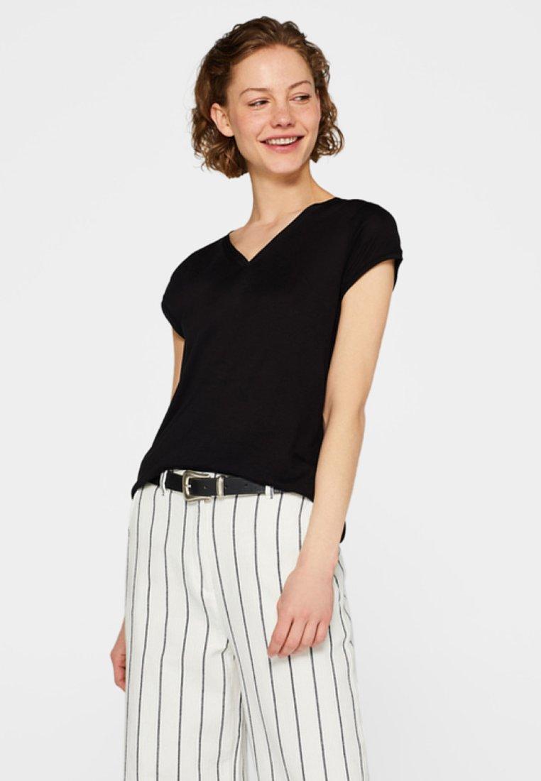 Esprit Collection - Basic T-shirt - black