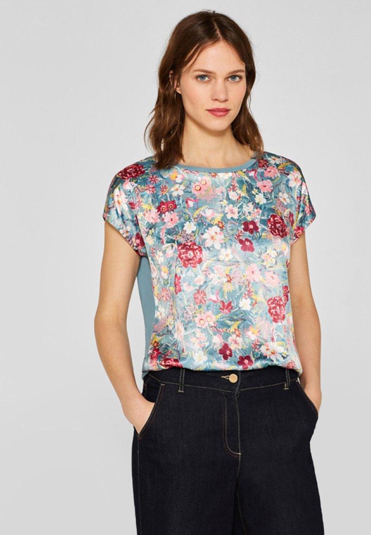 Esprit Collection - T-Shirt print - blue