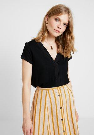 NECKLINE - T-shirts basic - black