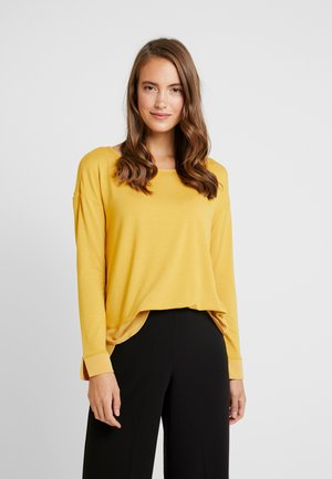 Long sleeved top - amber yellow