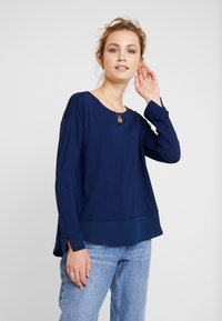 Esprit Collection - Maglietta a manica lunga - navy - 0