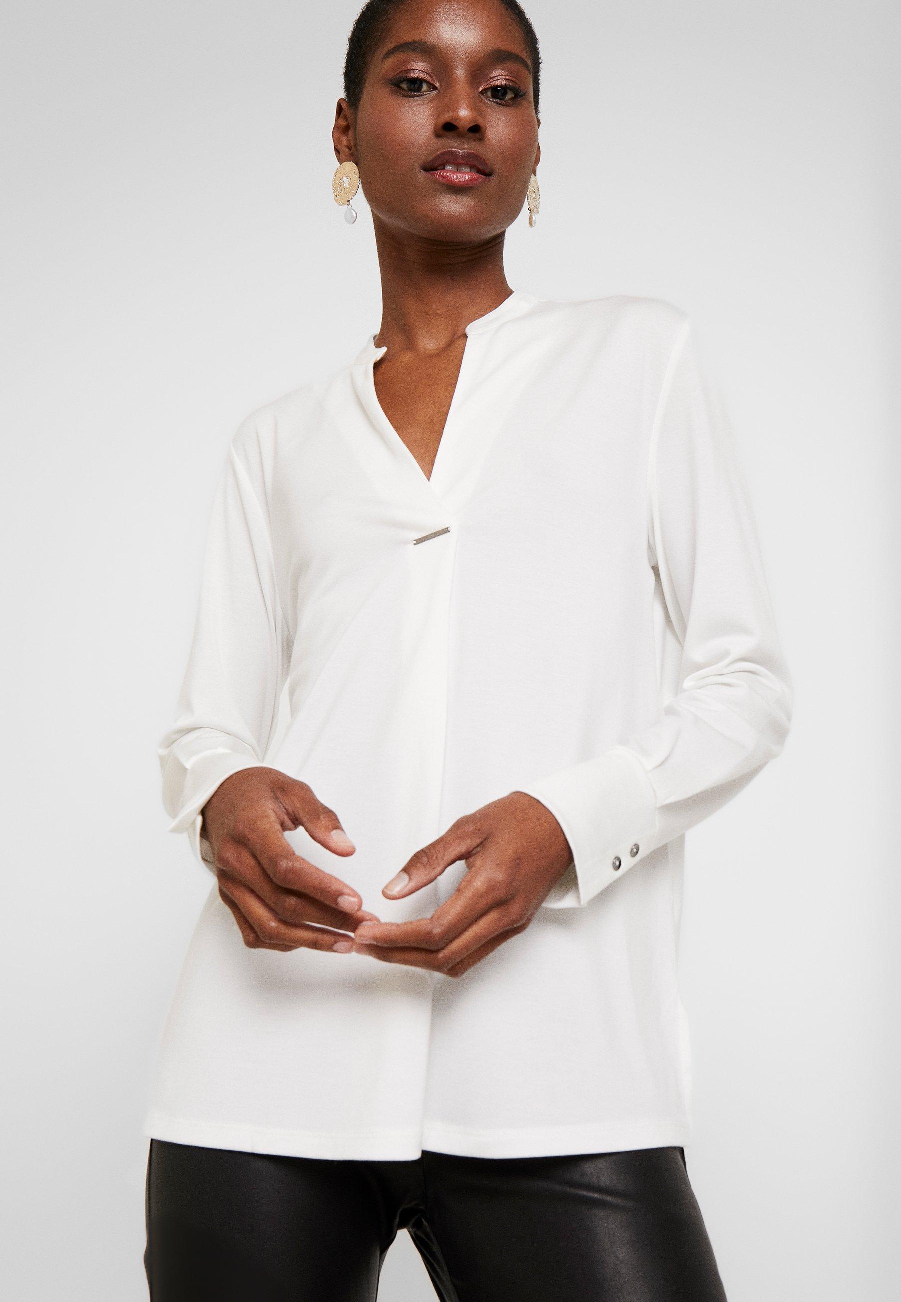 Esprit Collection Bluzka z długim rękawem - off white