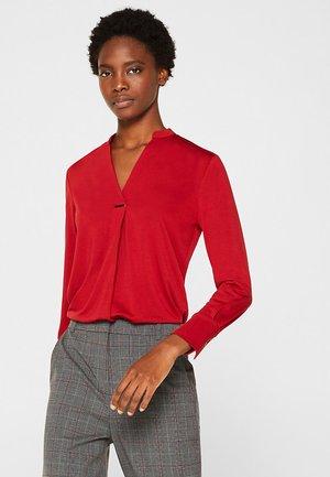 T-shirt à manches longues - dark red