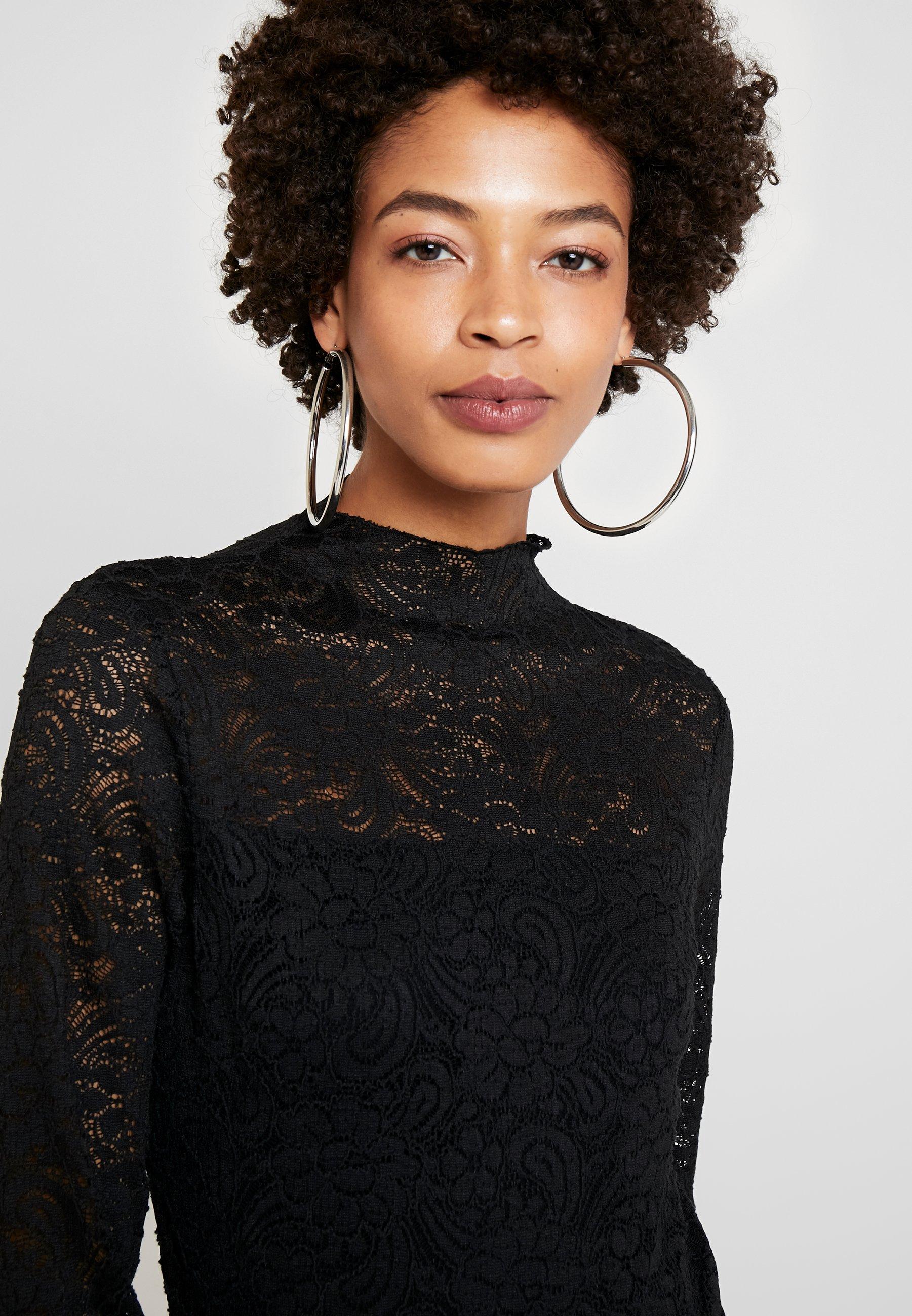Esprit Collection TEE - Topper langermet - black