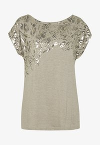 Esprit Collection - TEE - T-shirts med print - light taupe - 3
