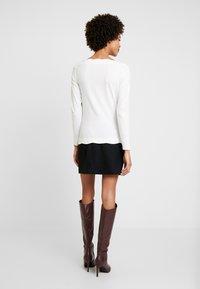 Esprit Collection - SCALLOP - Maglietta a manica lunga - off white - 2